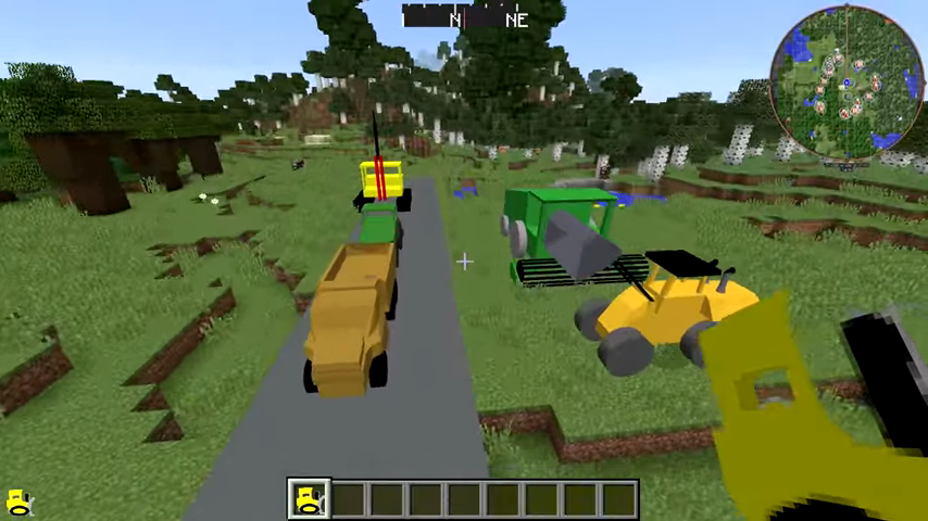 Мод Heavy Machinery (Тяжелая техника) дляМайнкрафт - скриншот 3