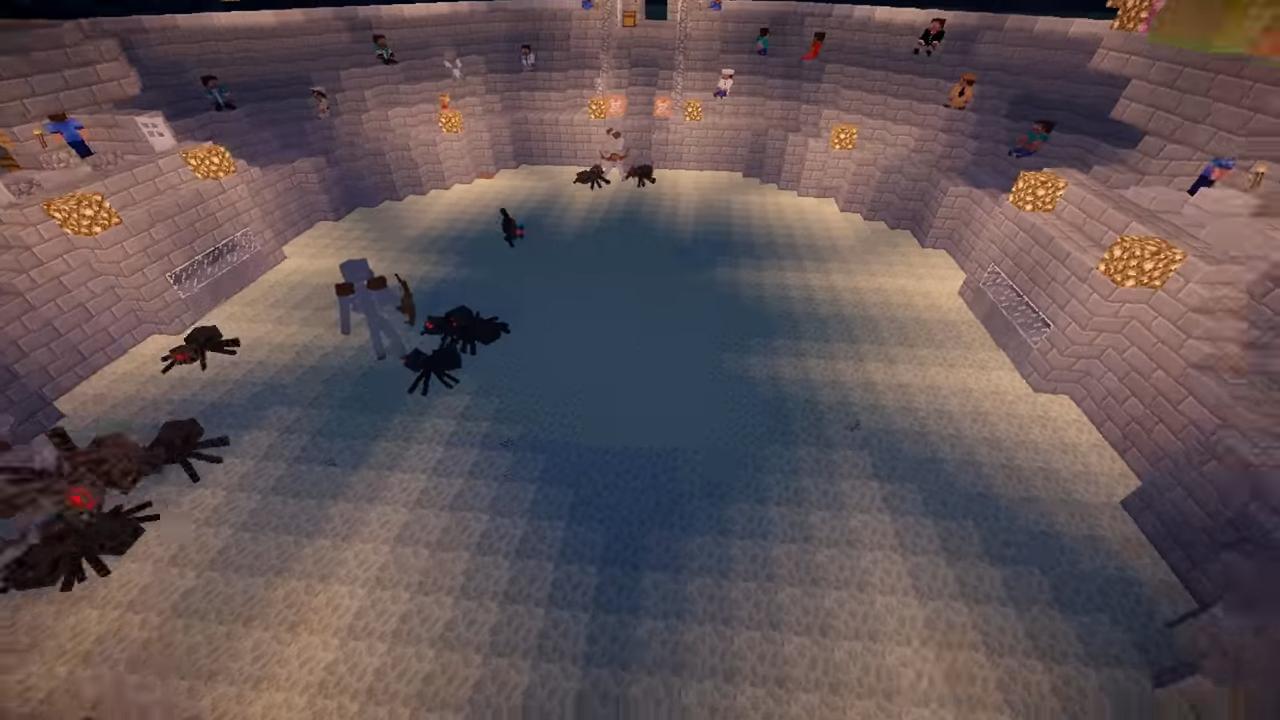 Мод Mob Battle (Битвы между мобами) - скриншот 3