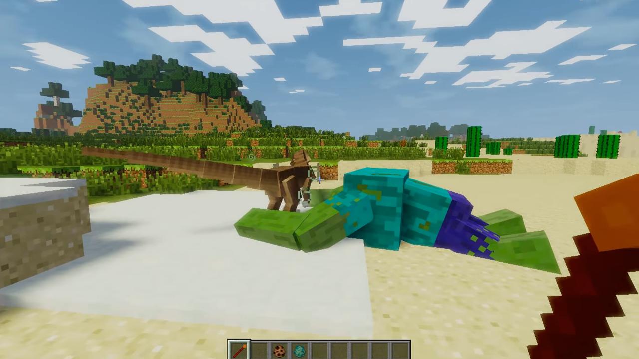 Мод Mob Battle (Битвы между мобами) - скриншот 2