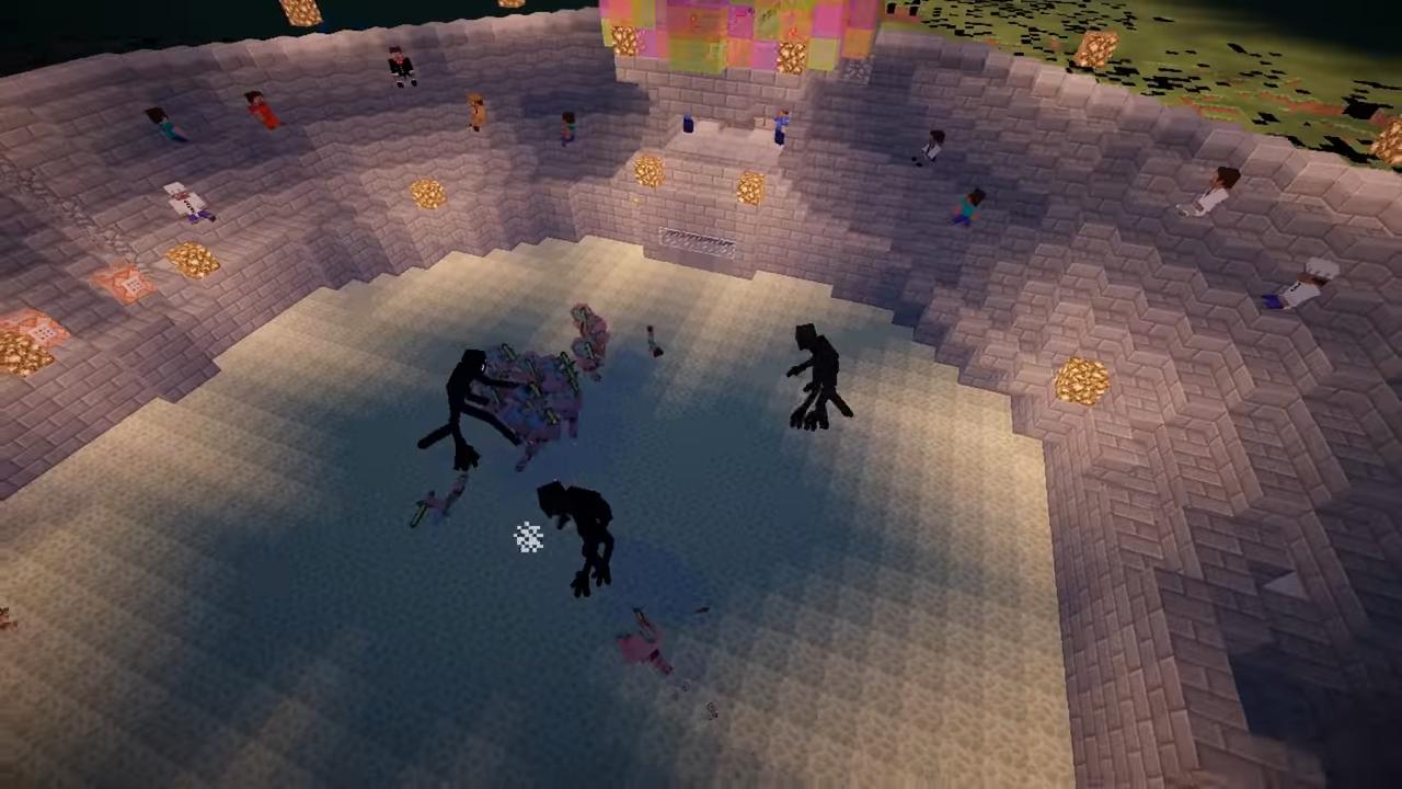 Мод Mob Battle (Битвы между мобами) - скриншот 6