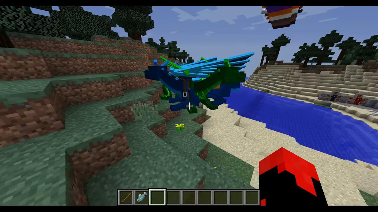 Мод Realm of The Dragons (Приручи дракона) дляМайнкрафт - скриншот 1
