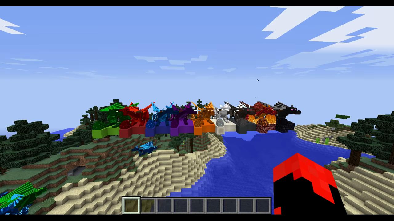 Мод Realm of The Dragons (Приручи дракона) дляМайнкрафт - скриншот 4