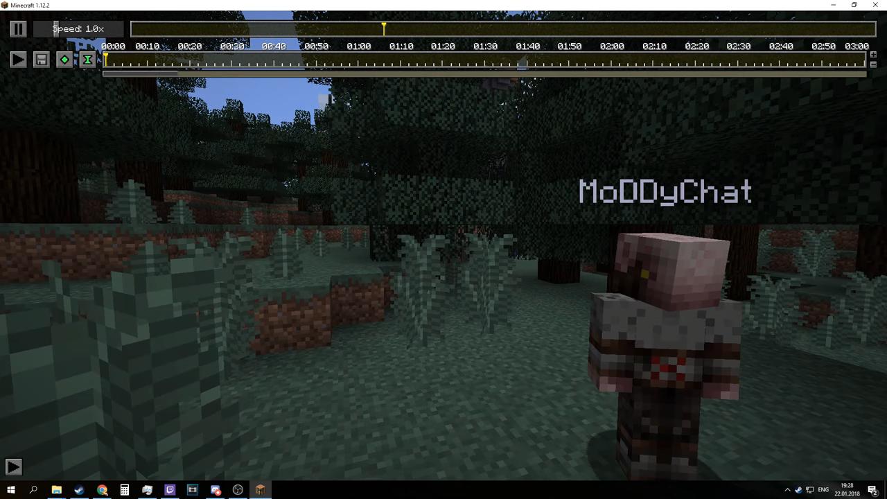 Мод «ReplayMod» (для сьемок видео) на Майнкрафт1.12.2/1.7.10 - скриншот 3