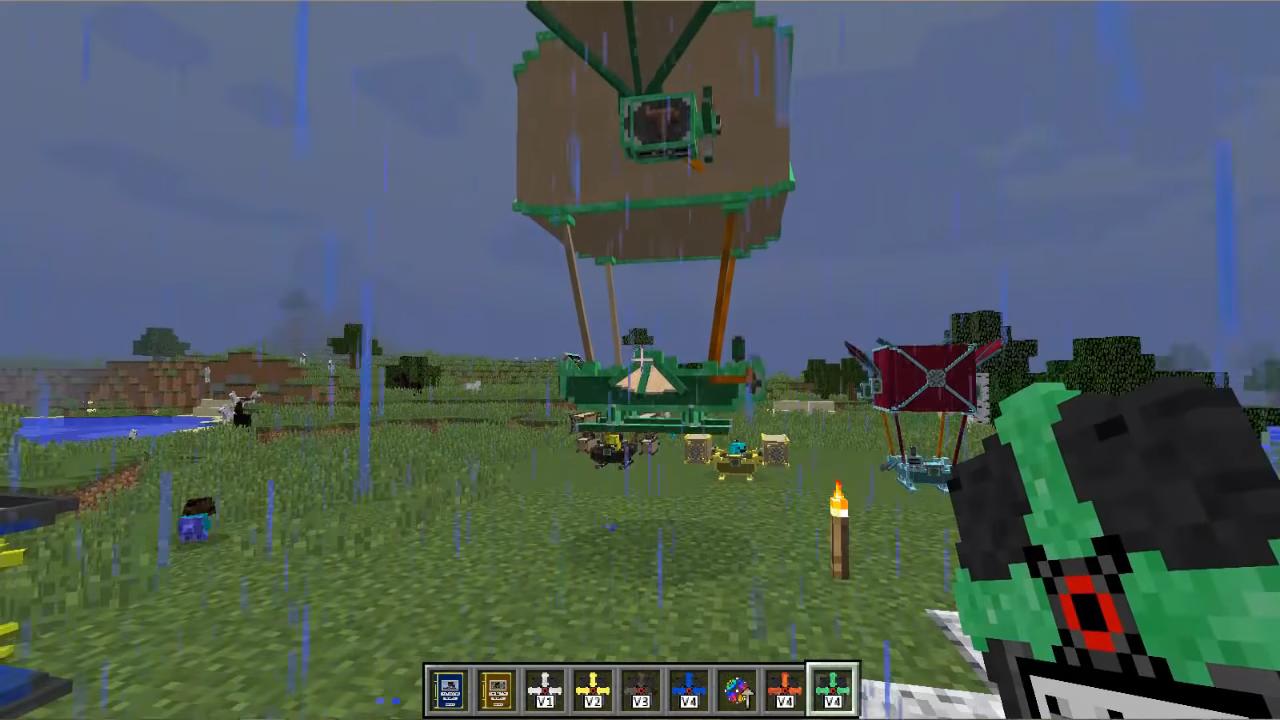 Мод Viescraft (Дирижабли) - скриншот 1