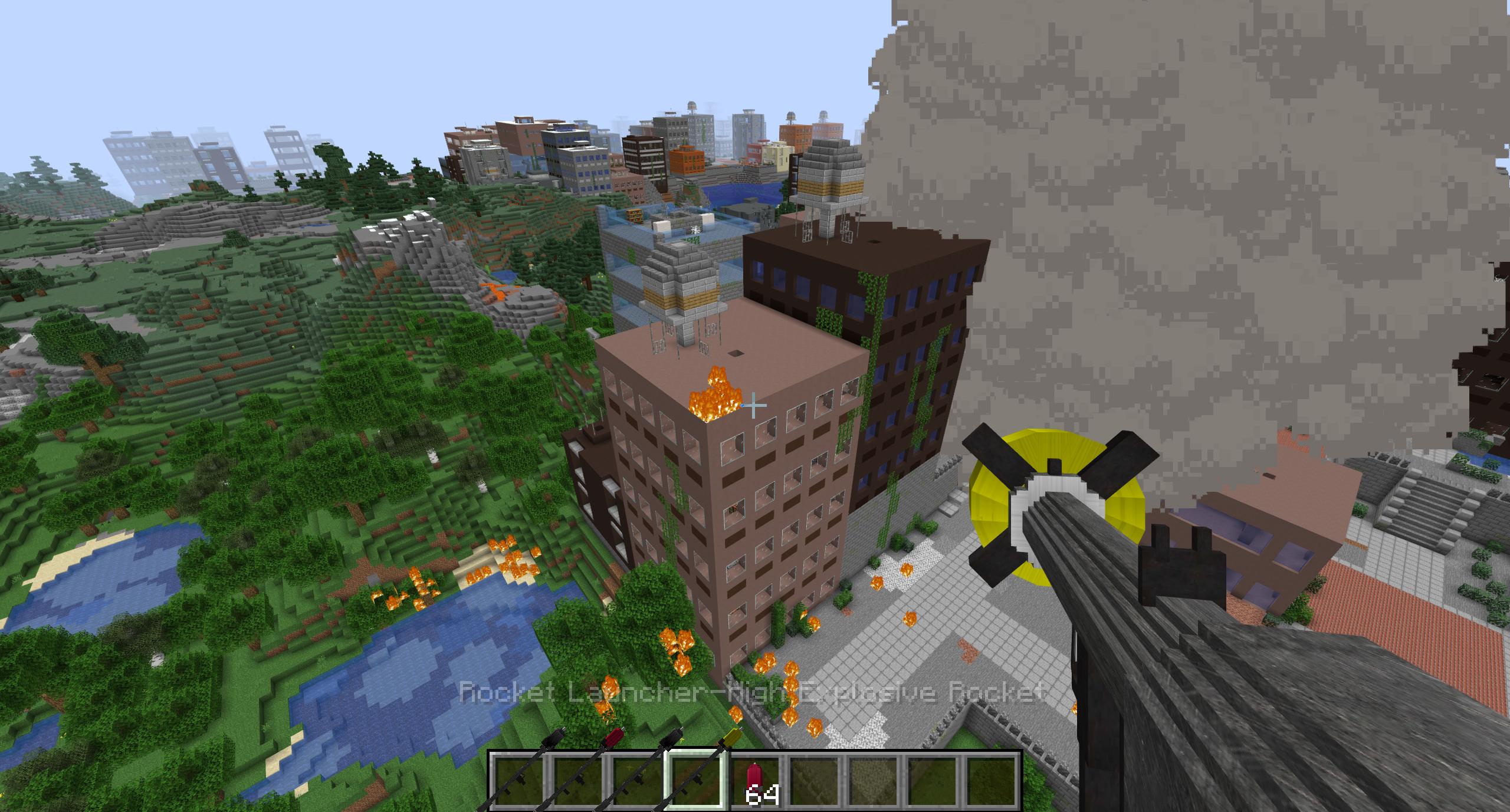 Мод «Atomic Explosions» (Взрывчатка и оружие) - скриншот 6