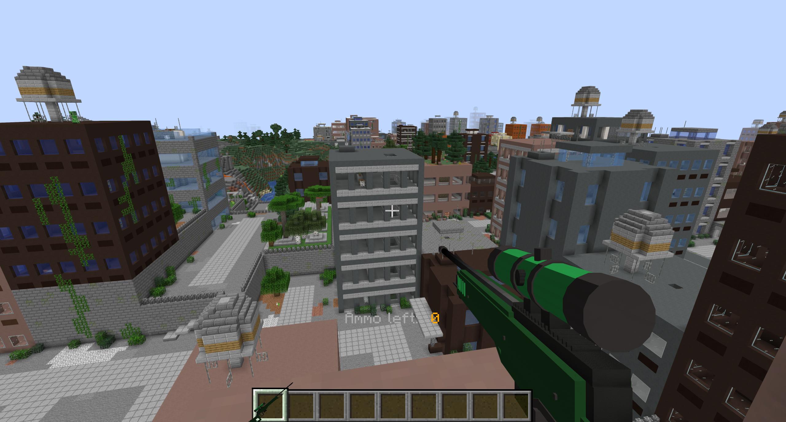 Мод «Atomic Explosions» (Взрывчатка и оружие) - скриншот 2