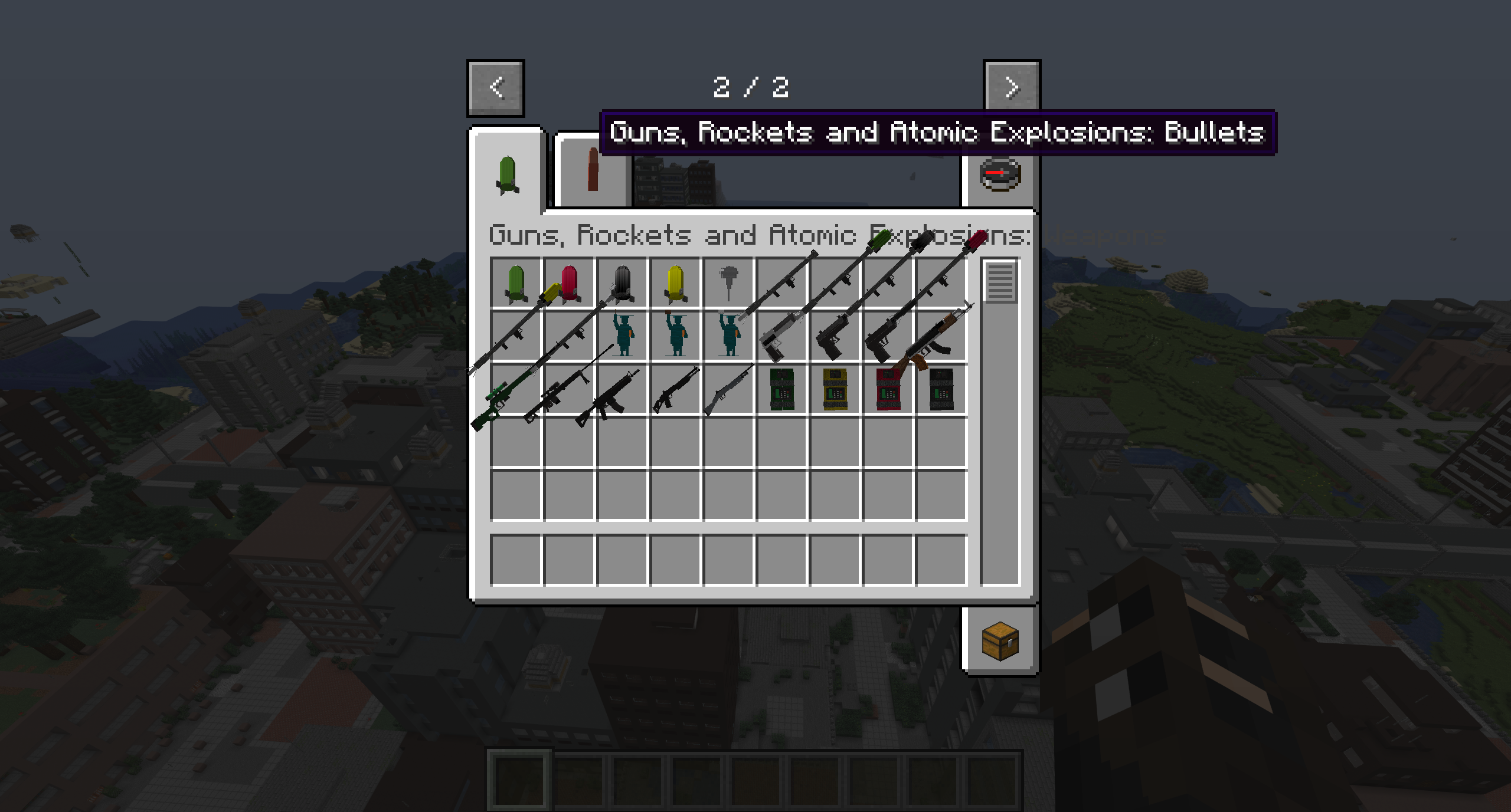 Мод «Atomic Explosions» (Взрывчатка и оружие) - скриншот 5