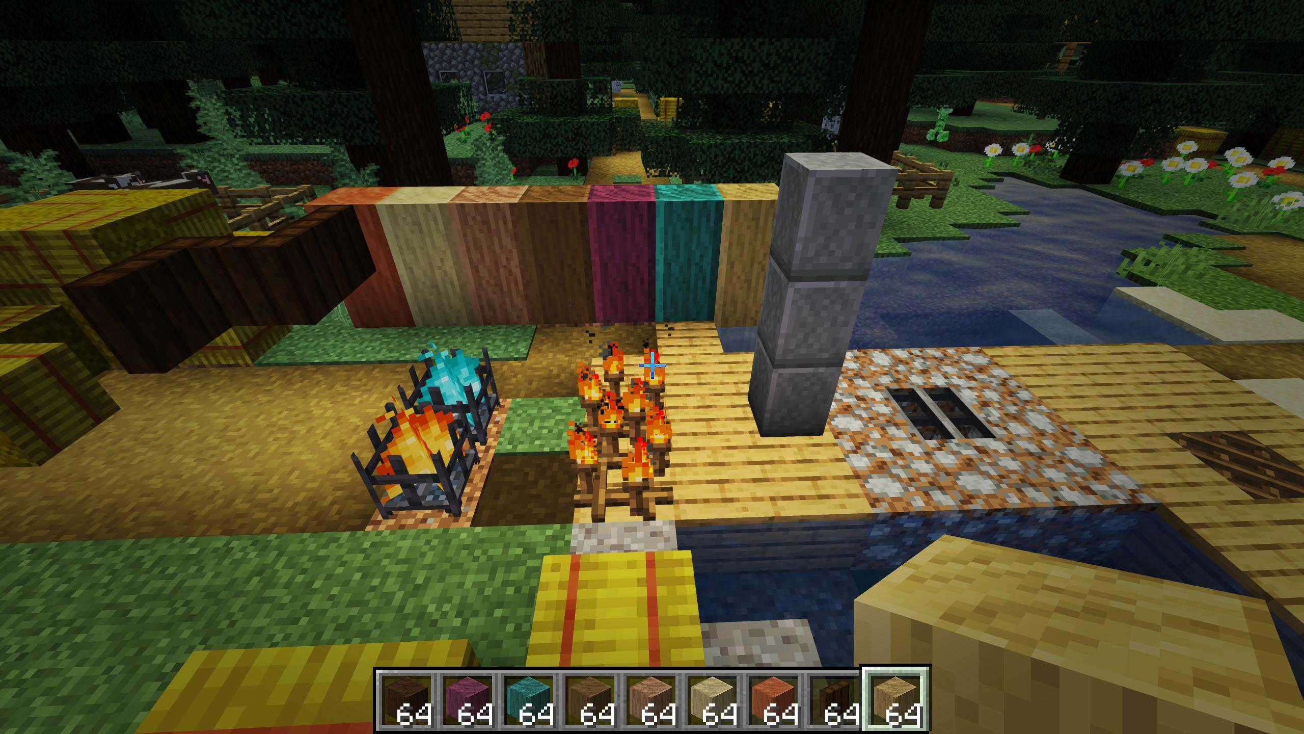 Мод «Decorative Blocks» (Декоративные блоки) - скриншот 2