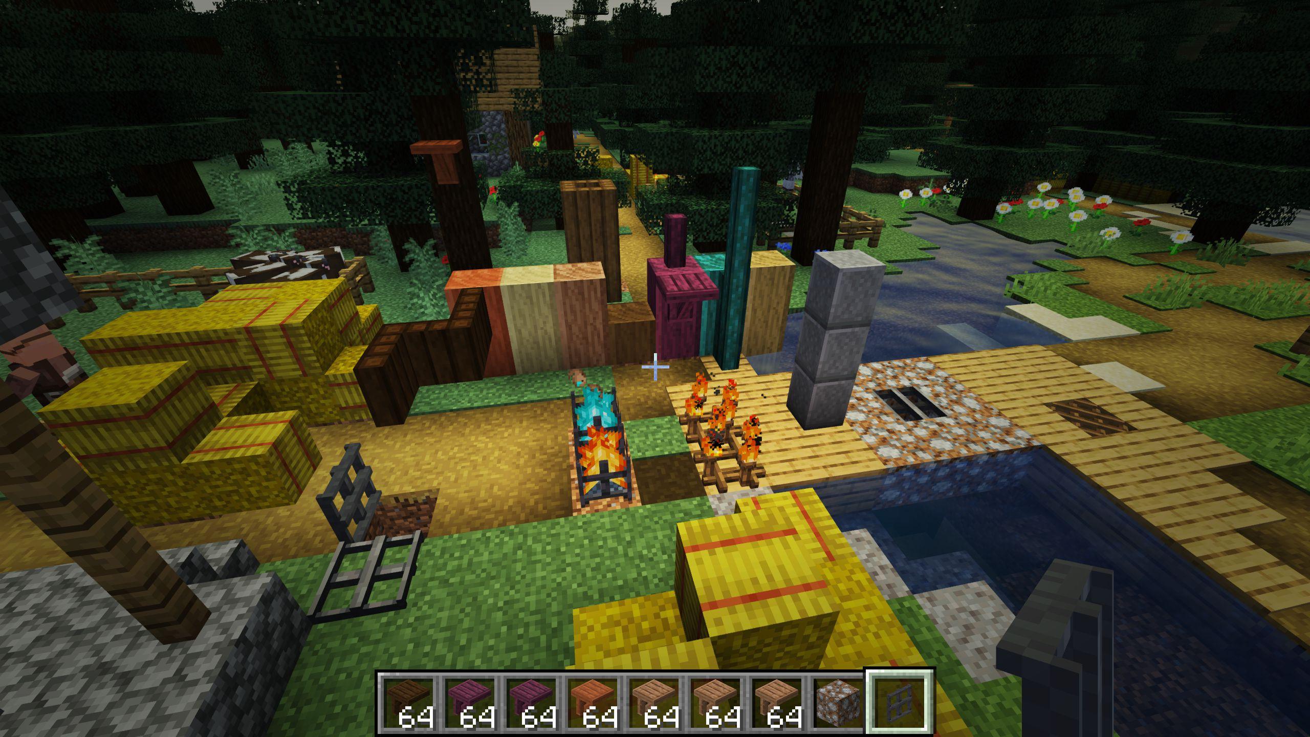 Мод «Decorative Blocks» (Декоративные блоки) - скриншот 1