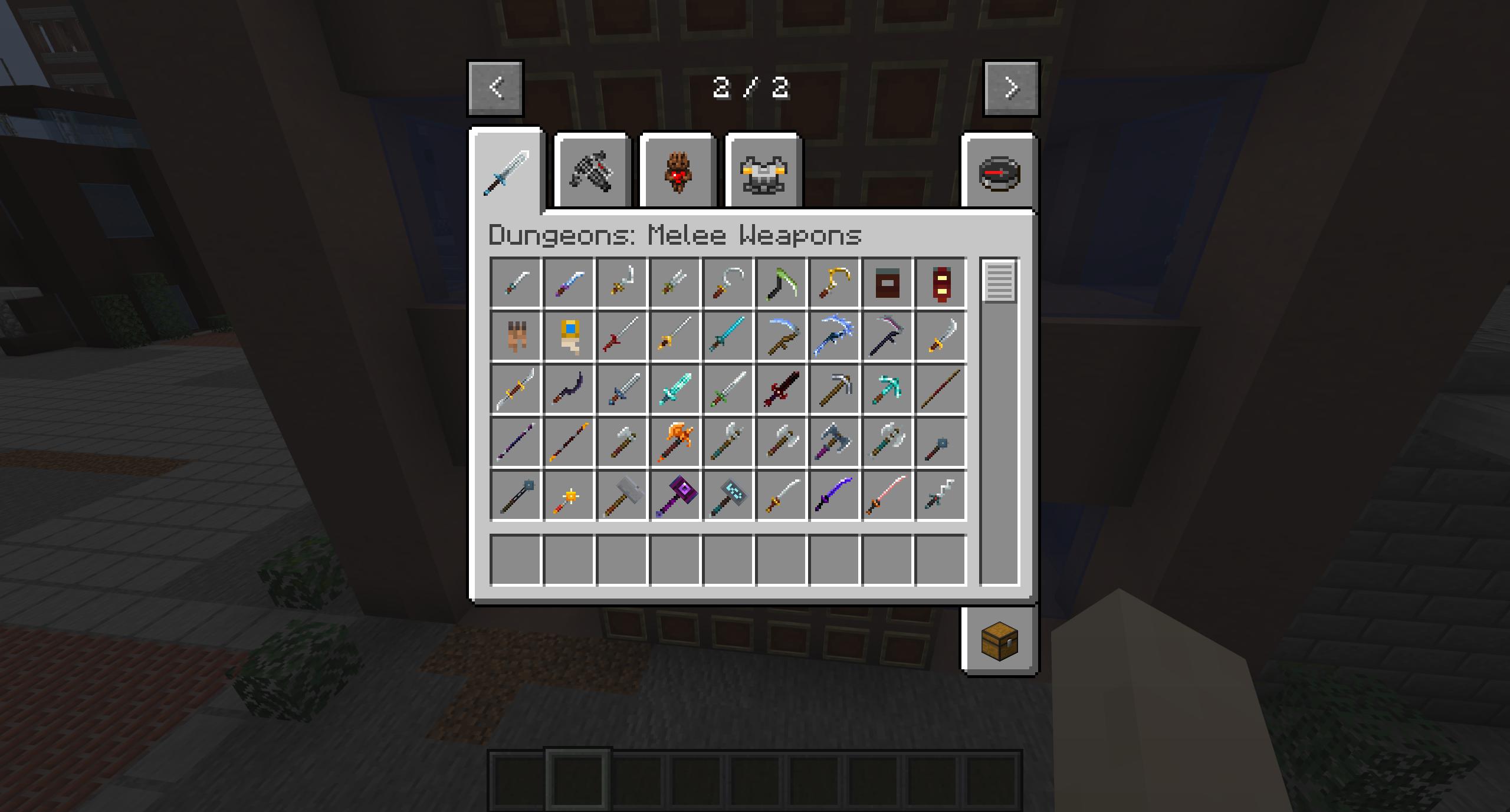 Мод «Dungeons Gear» (Оружие, доспехи) - скриншот 9