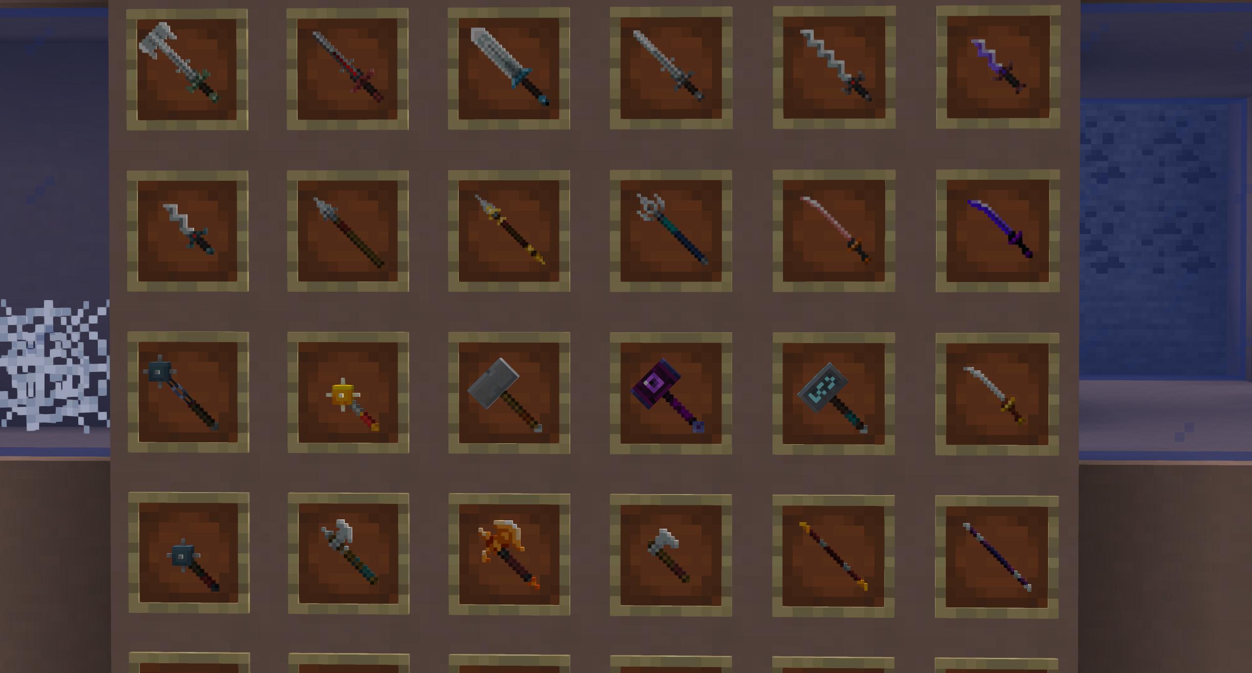 Мод «Dungeons Gear» (Оружие, доспехи) - скриншот 6