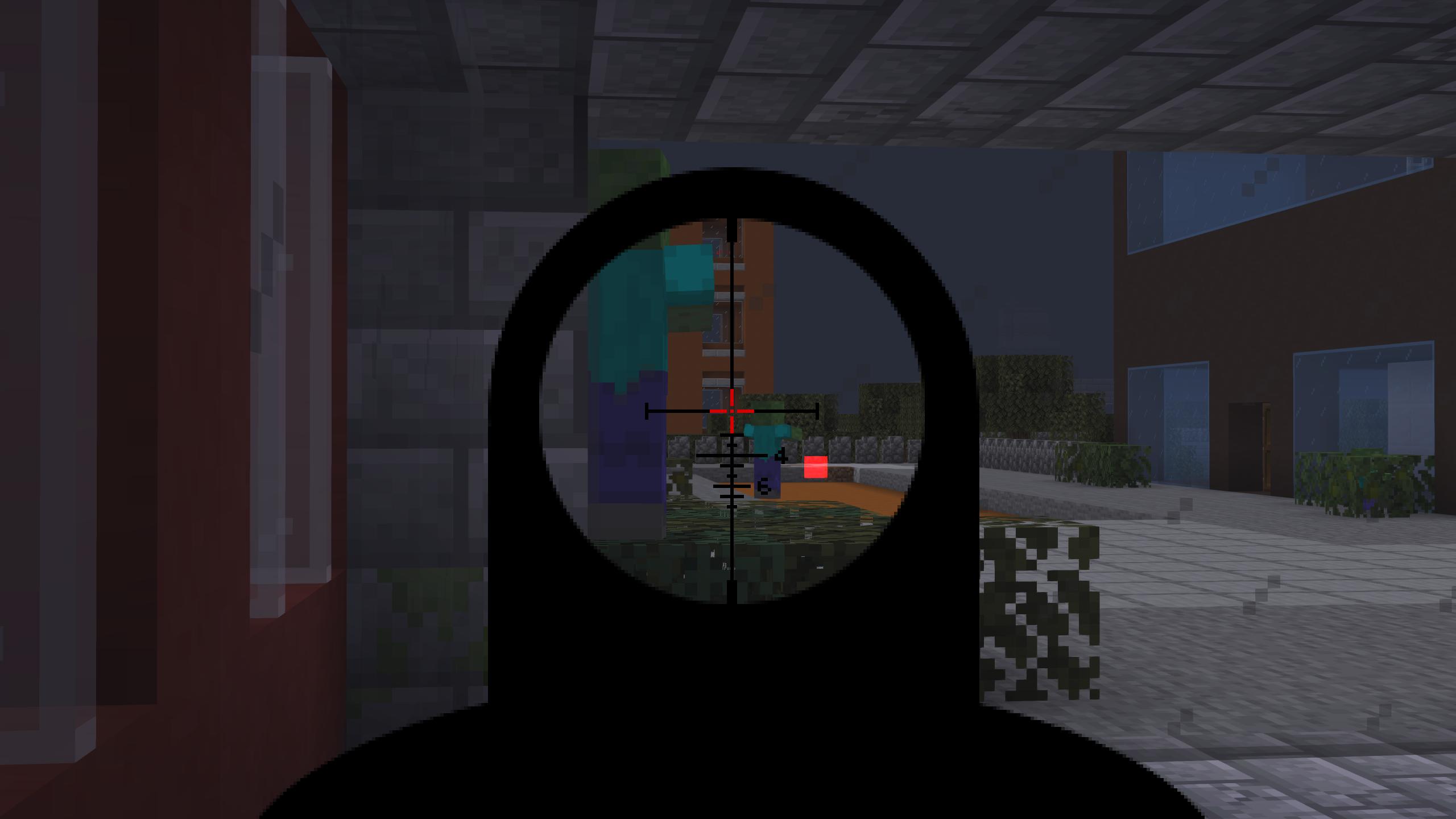 Мод «Gun Customization: Infinity» (Оружие с прицелом) - скриншот 9