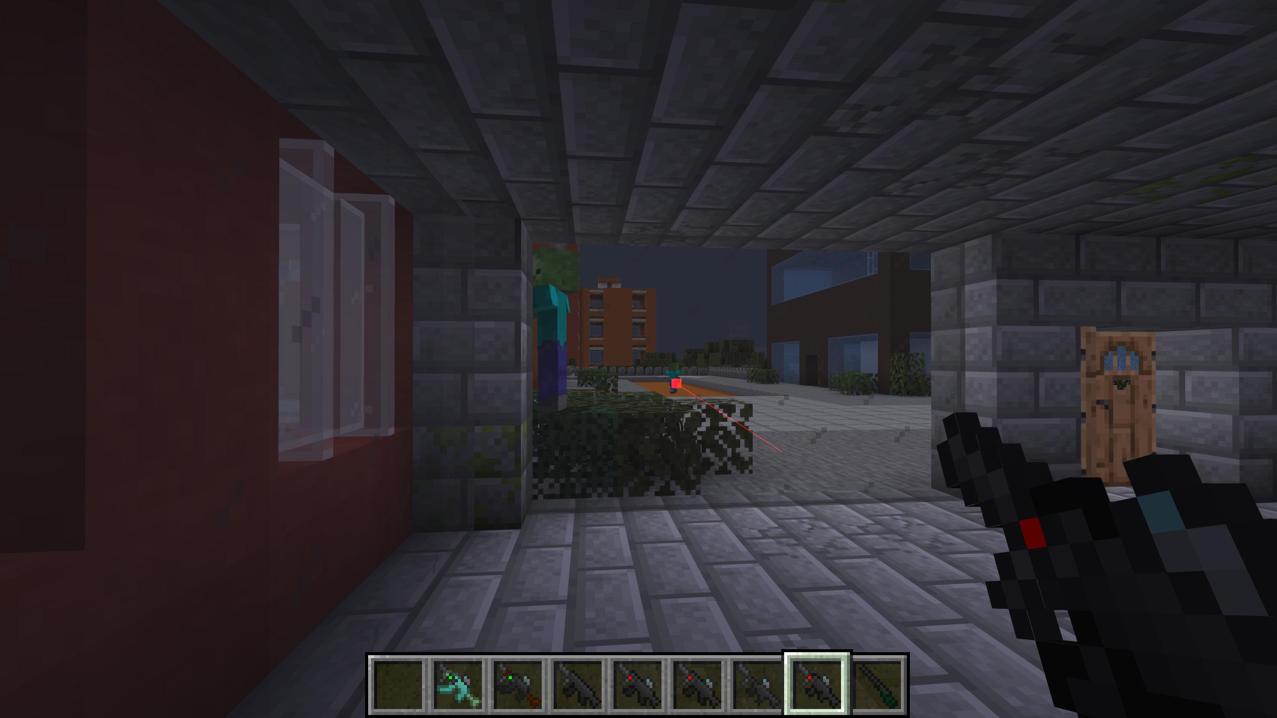 Мод «Gun Customization: Infinity» (Оружие с прицелом) - скриншот 8