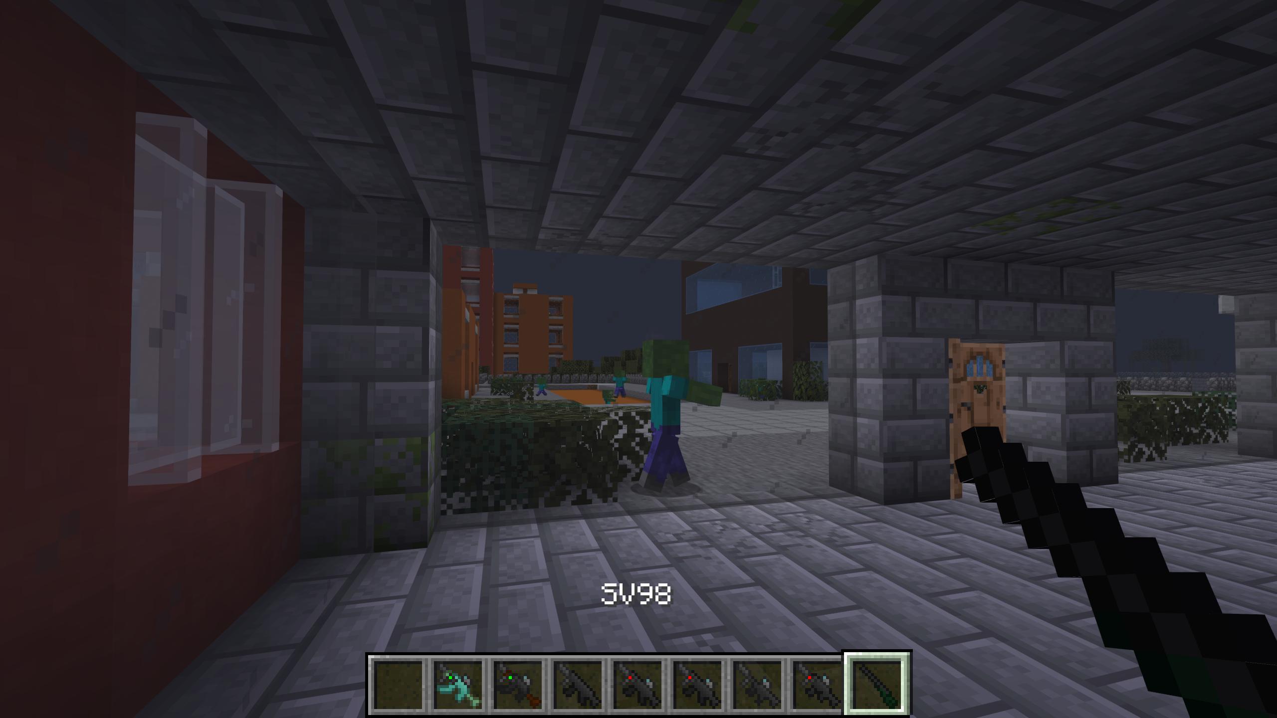 Мод «Gun Customization: Infinity» (Оружие с прицелом) - скриншот 7