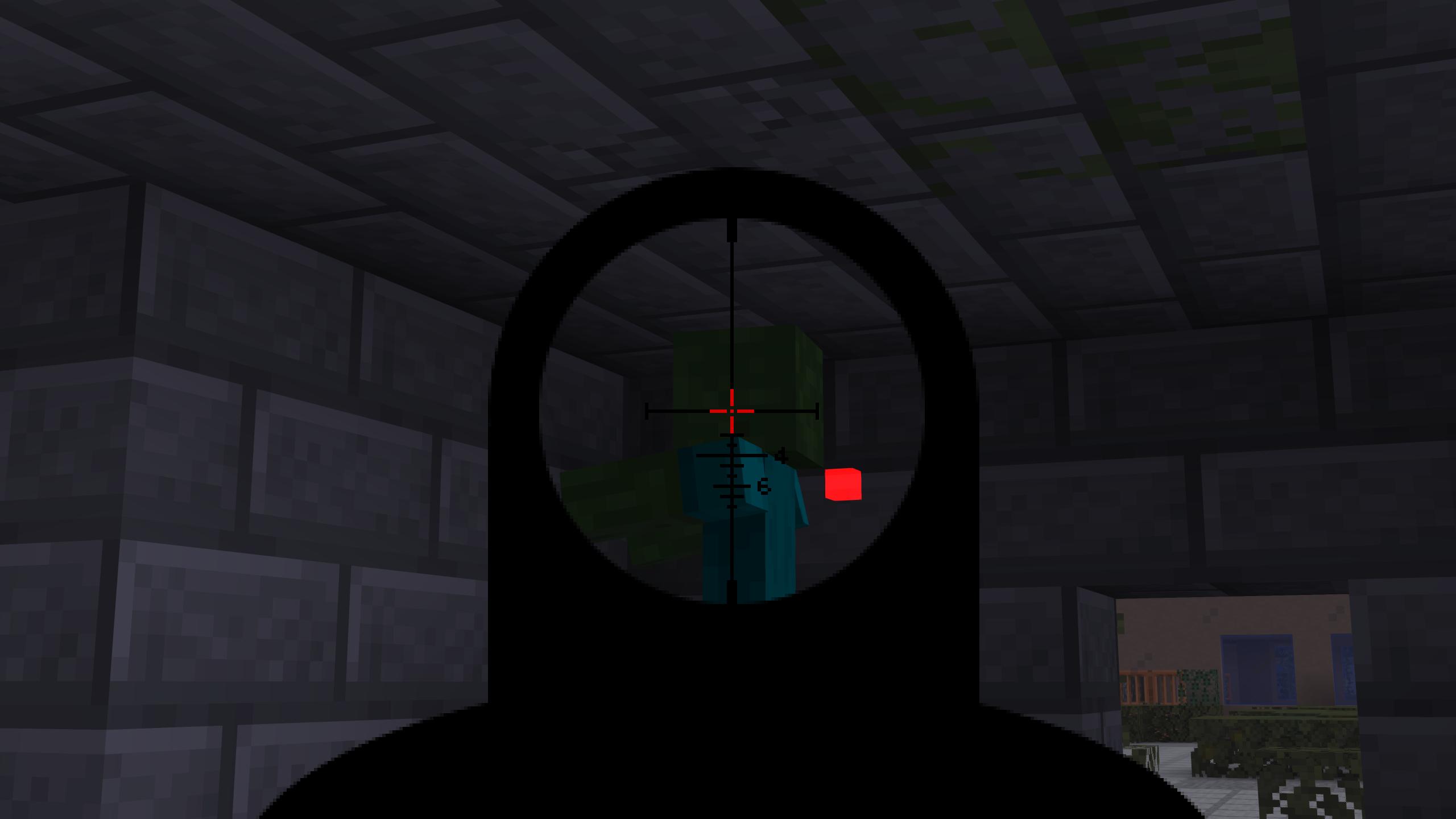 Мод «Gun Customization: Infinity» (Оружие с прицелом) - скриншот 4