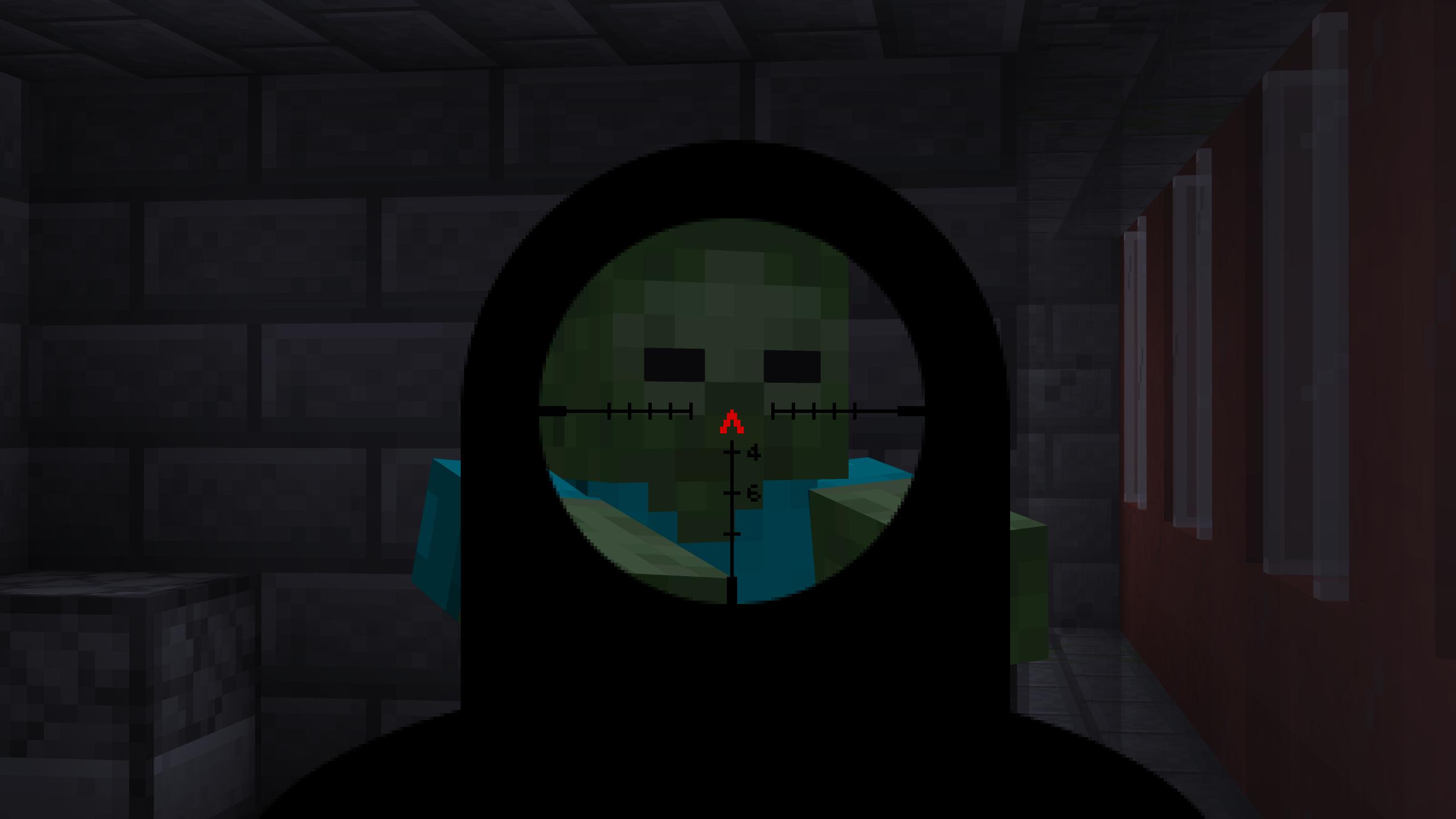 Мод «Gun Customization: Infinity» (Оружие с прицелом) - скриншот 2