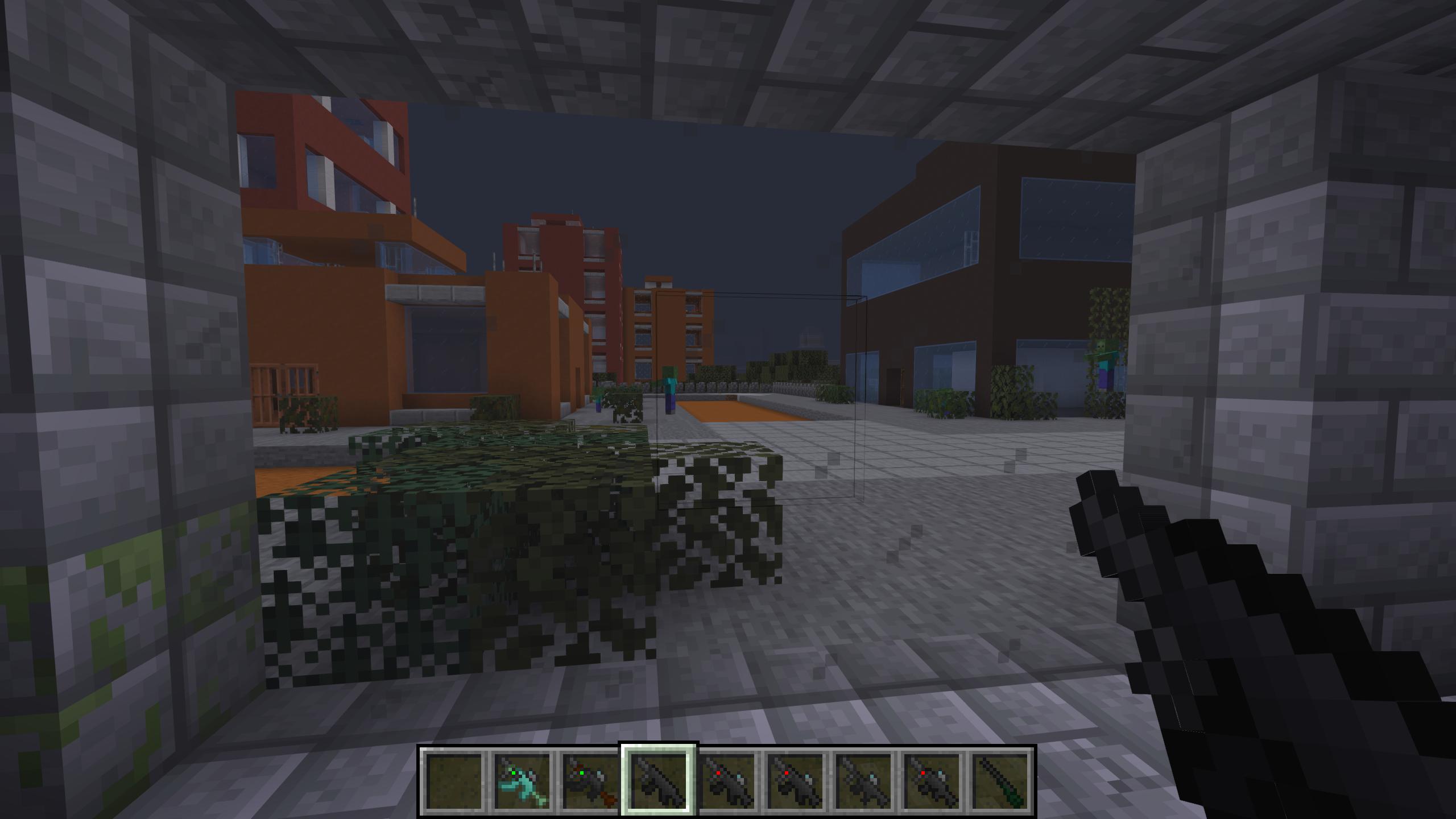 Мод «Gun Customization: Infinity» (Оружие с прицелом) - скриншот 1