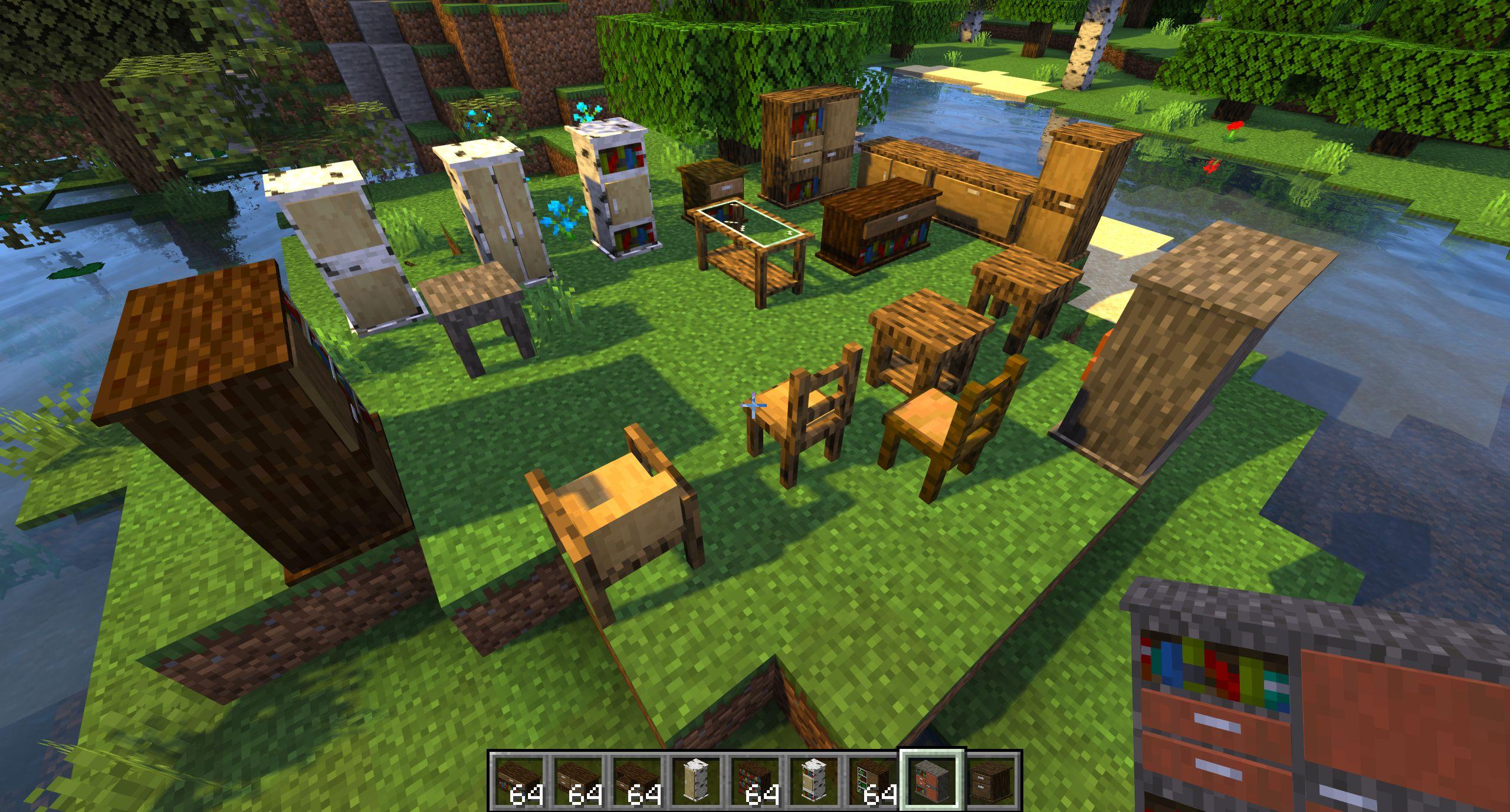 Мод на мебель «Macaw's Furniture» - скриншот 2
