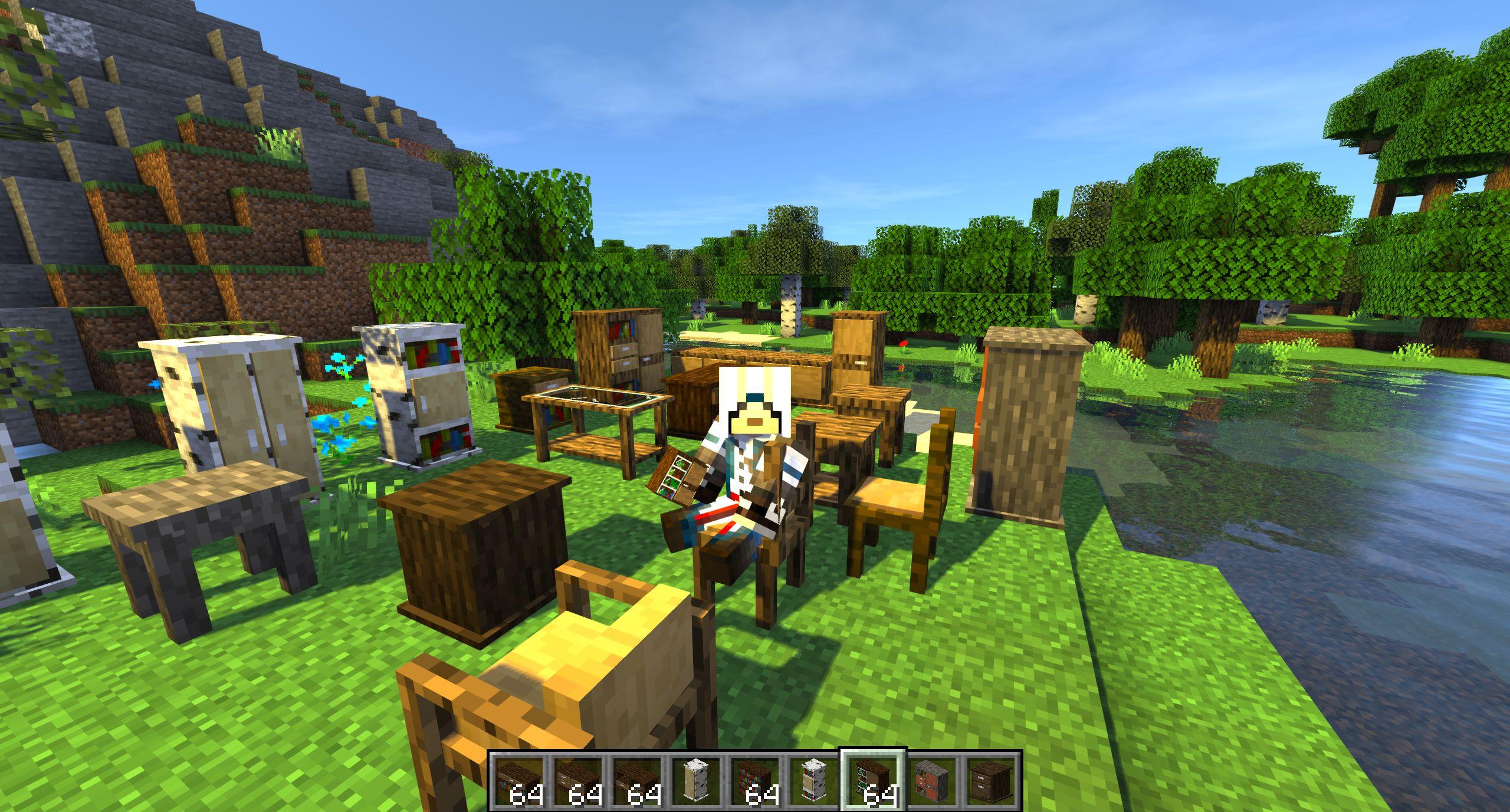 Мод на мебель «Macaw's Furniture» - скриншот 1