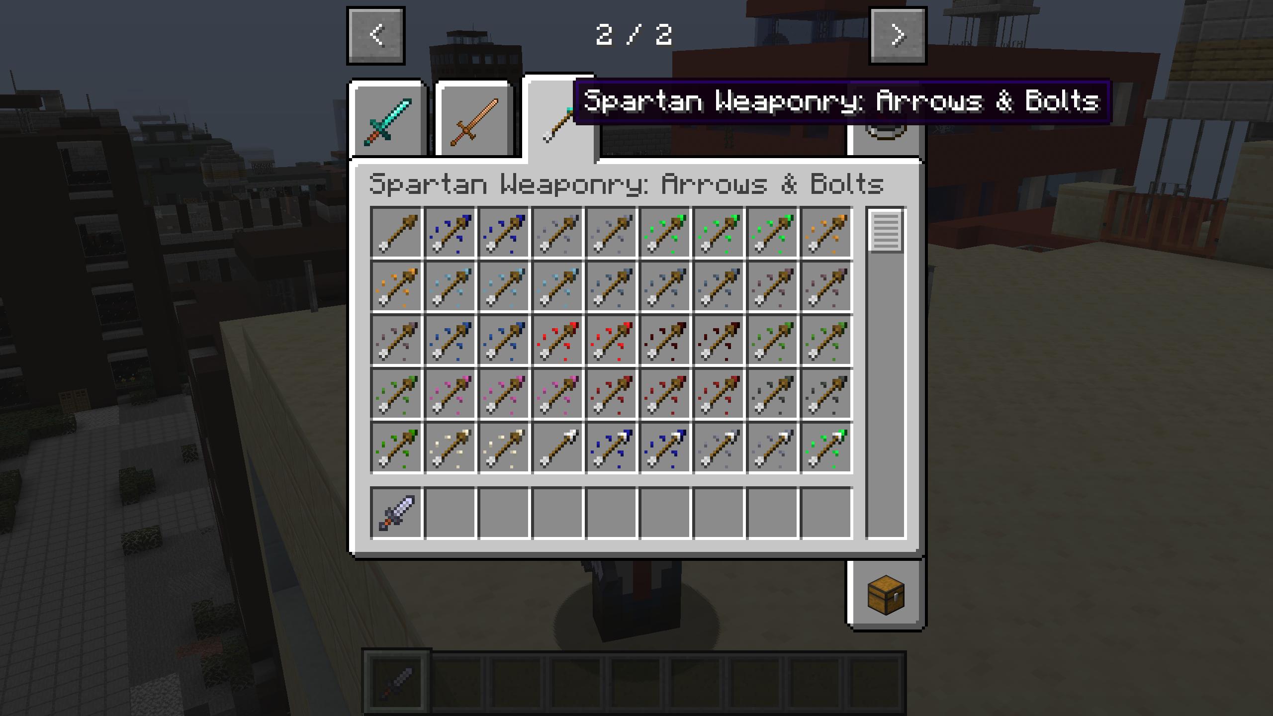 Мод «Spartan Weaponry» (Спартанское оружие) - скриншот 10