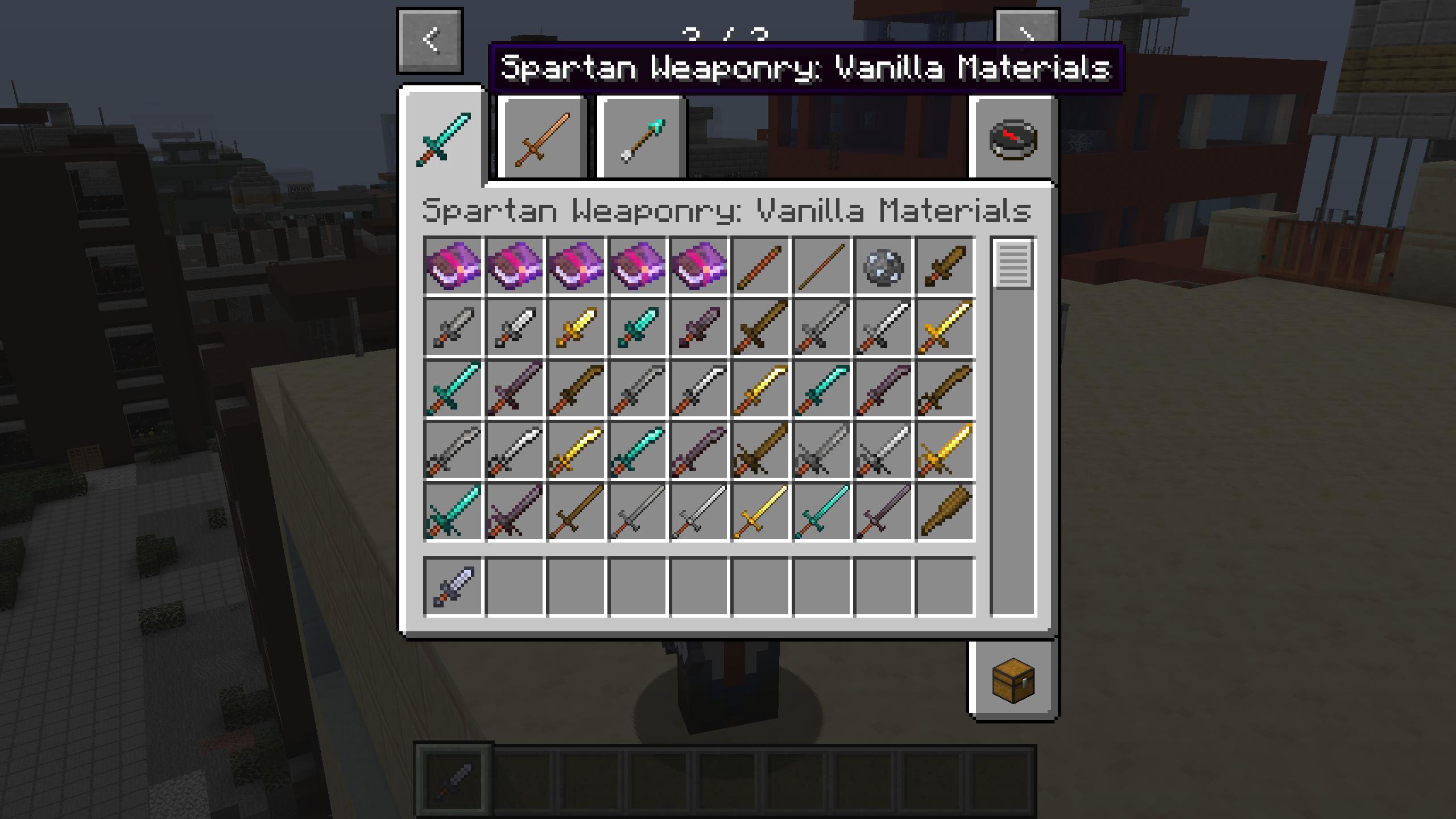 Мод «Spartan Weaponry» (Спартанское оружие) - скриншот 6