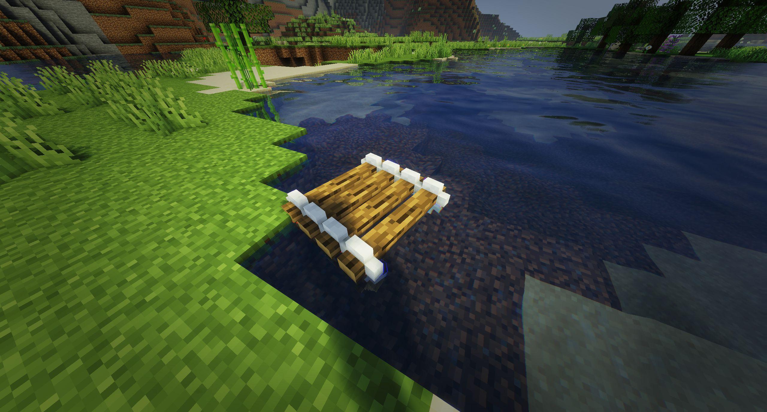 Мод на плот «Just A Raft» (быстрая лодка) - скриншот 5