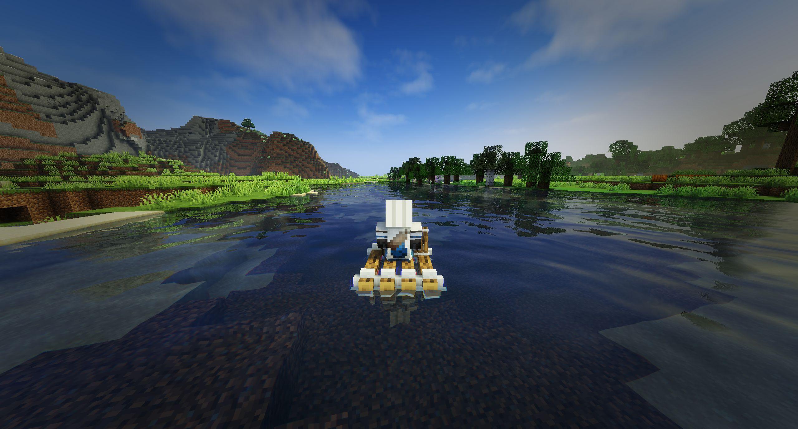 Мод на плот «Just A Raft» (быстрая лодка) - скриншот 4