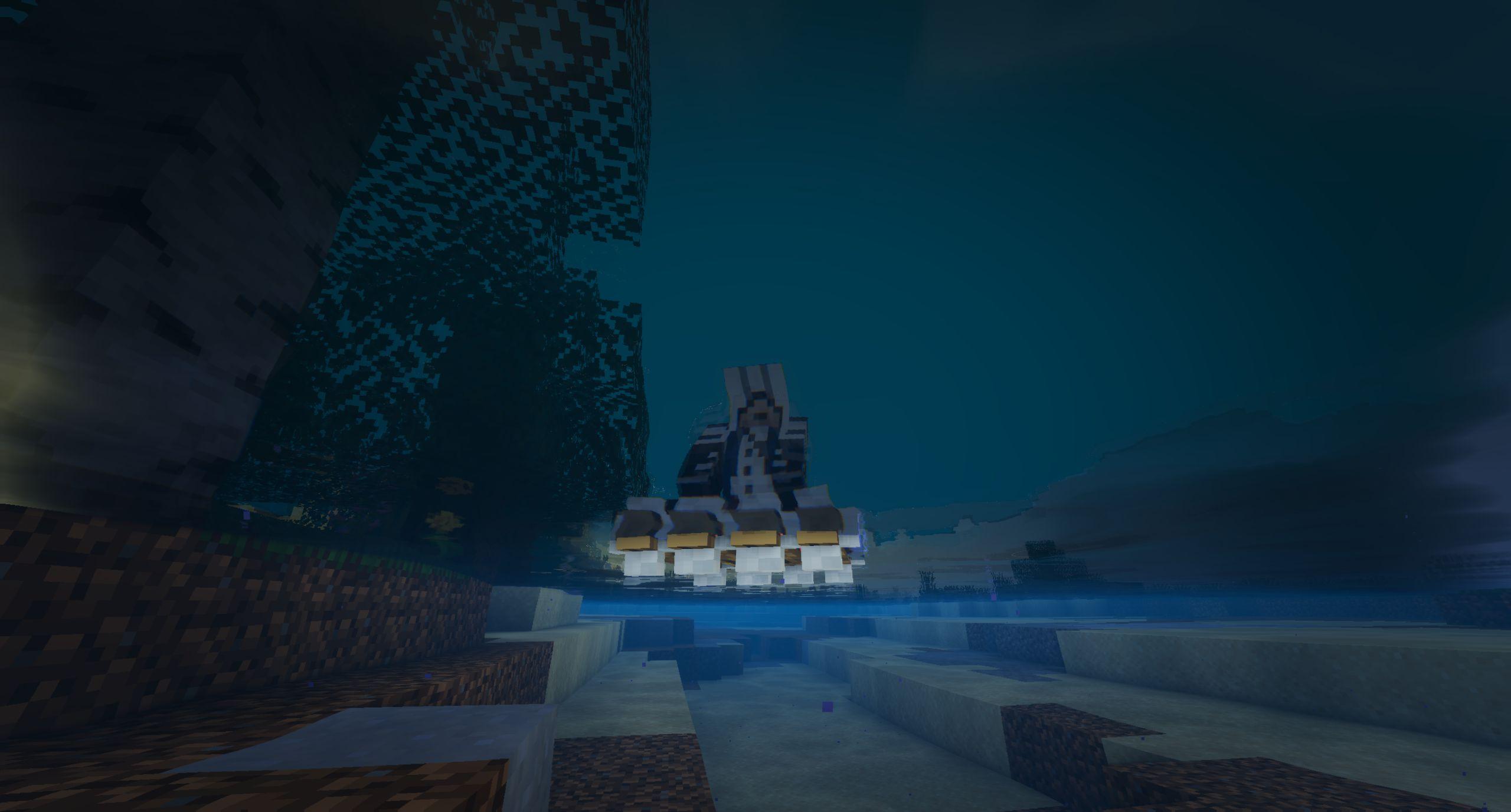 Мод на плот «Just A Raft» (быстрая лодка) - скриншот 3