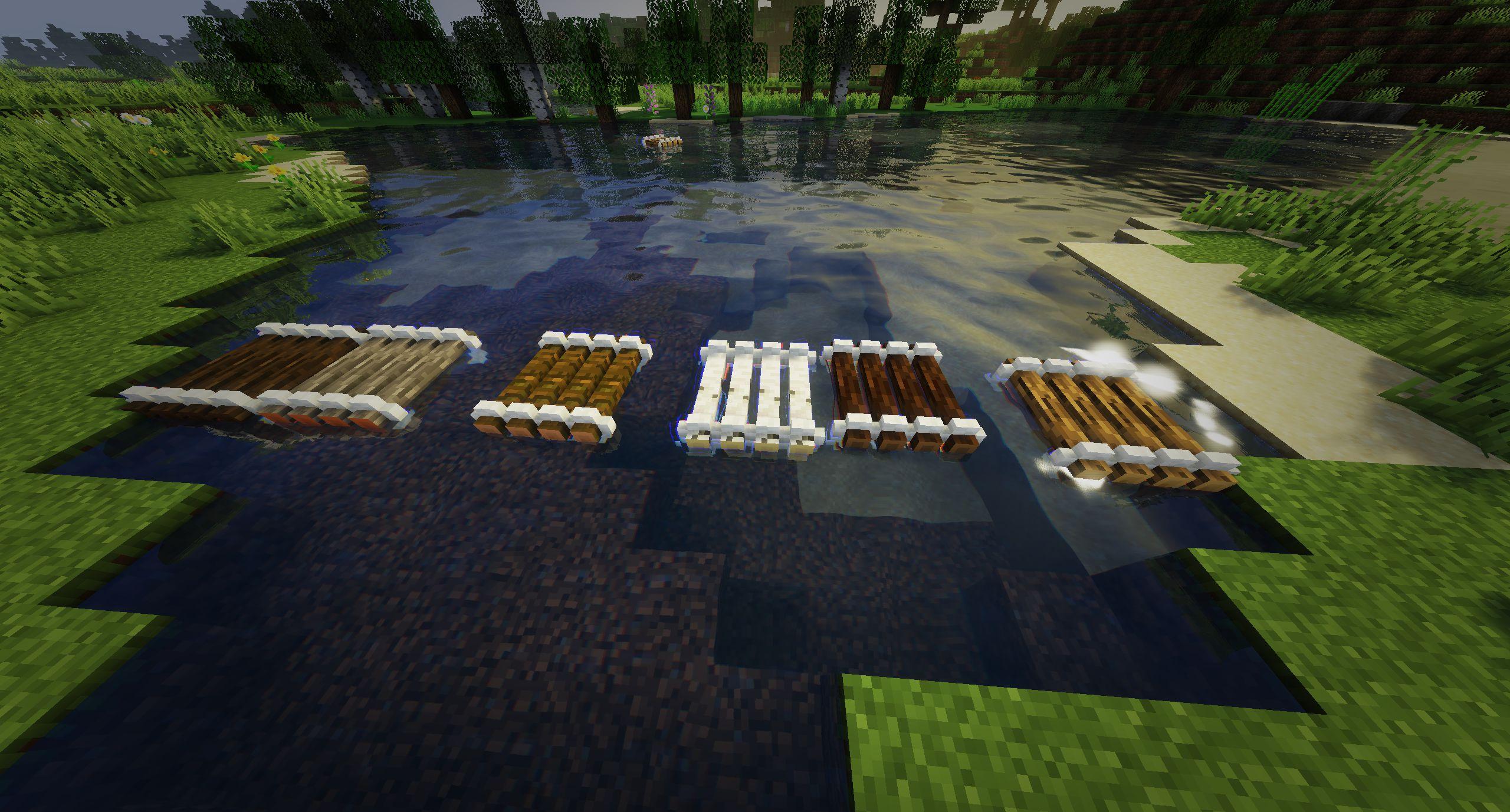 Мод на плот «Just A Raft» (быстрая лодка) - скриншот 2